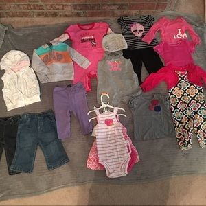 Other - Baby Girl Clothes 9 months Bundle